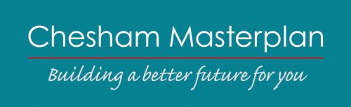 Logo and strapline of Chesham Masterplan